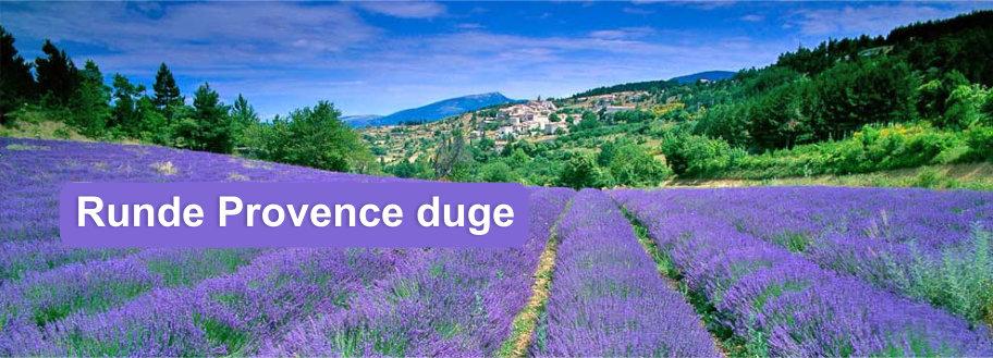 Provence stof duge Ø180 cm