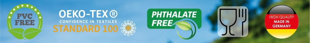 PVC fri voksdug - godkendt til kontakt med fødevarer
