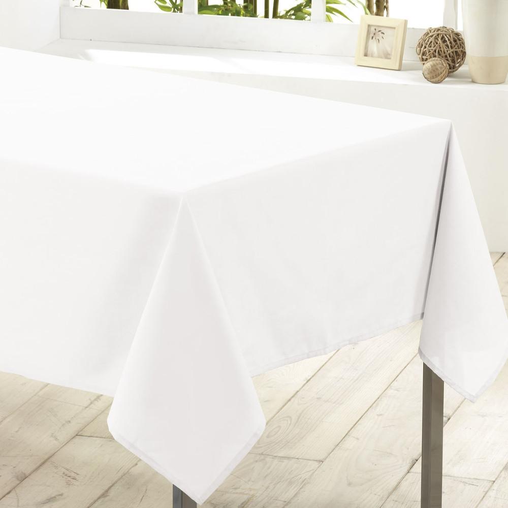 Oprindeligt Hvid dug, 140 x 240 cm | 100% polyester - nem vask | Køb Her IJ98