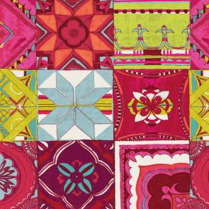 Mosaica, voksdug med mosaik mønster
