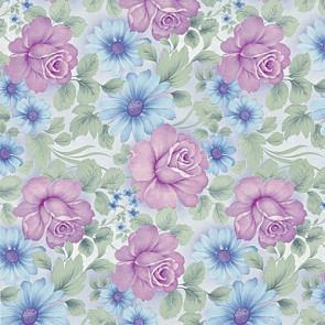 Voksdug 44-C Roser violet