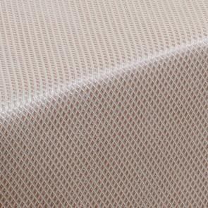 Nettle & Tread Beige - voksdug med med mønster i dæmpet symmetri