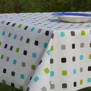 Color Spot Festival Turkis, akryldug med spots