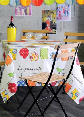 Akryldug Laura Lancelle, Guinguette