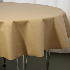 Rund akryldug Ø 138 cm ar10-2  -  Farve: beige lino