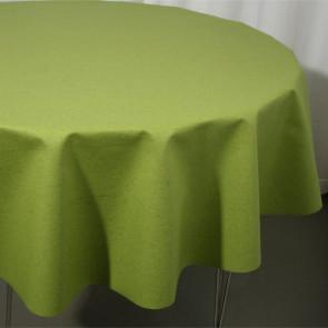 Rund  akryldug Ø 138 cm ar12-5 - LINO grøn