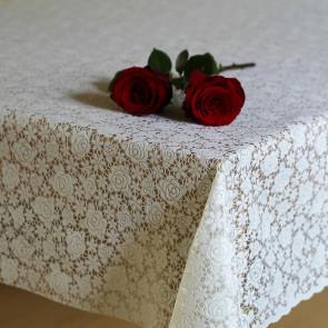 Blondedug lille rose, hvid