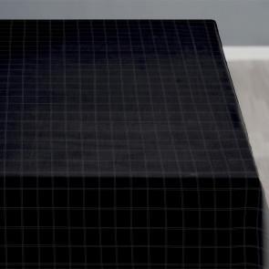 Södahl Clear black, klassisk damaskvævet akryldug med antiskrid