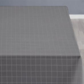 Södahl Clear Grey, klassisk damaskvævet akryldug med antiskrid