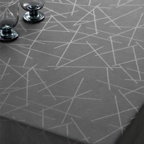 Compliments Damaskdug Sticks, grå - 140 x 270 cm