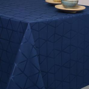 Engholm Pelikan Damaskdug med teflon, blå