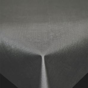 Diamond Hørstruktur Antracit - rund voksdug Ø 160 cm