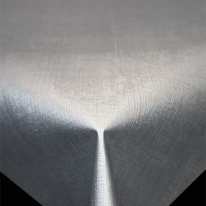Diamond Hør-Struktur Lysegrå - ensfarvet pvc fri voksdug