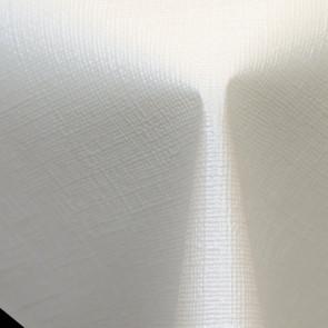 Diamond Linen White - Flot voksdug til festen, med flot præget hørlook