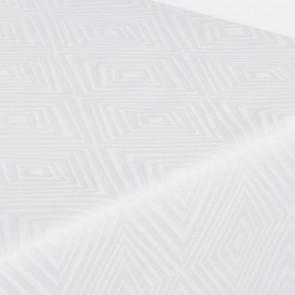 Engholm damaskdug Diamond hvid, 140 cm eller 160 cm bred, i forskellige længder