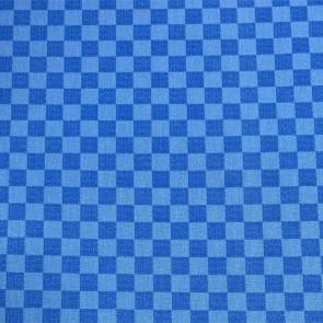 Flair Karo Blue - Ternet akryldug i blå