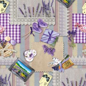 Franske lavendler - Voksdug med alt hvad der hører sig til i Provence