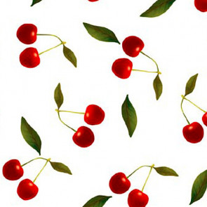 Kirsebær, klar plast gennemsigtig voksdug