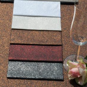 Glitter - akryldug med glimmer effekt - ca. 150 cm bred