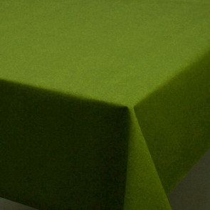 Ensfarvet akryldug grøn - Dali 180 cm bred