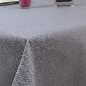 Ensfarvet akryldug grå - Dali 180 cm bred
