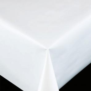 Trend Uni hvid - ensfarvet pvc fri voksdug