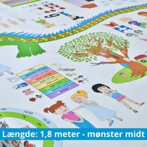 InfoWop Samtaledug - Matematik incl. idehæfte - 1,8 meter