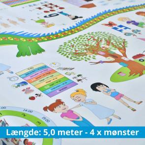 InfoWop Samtaledug Matematik, 5,0 meter med 4 x mønster