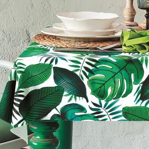 Java, voksdug med flotte grønne blade