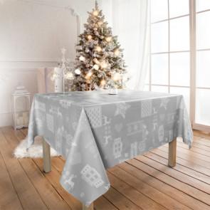 Julevoksdug - Jul i Alperne, grå