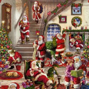 Julevoksdug - Julemandens juleeventyr