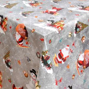 Julevoksdug Merry Christmas - Jul i Sølvskær, 140 cm bred