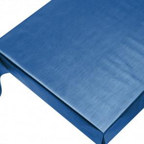 Julevoksdug - Ensfarvet voksdug metallic blå