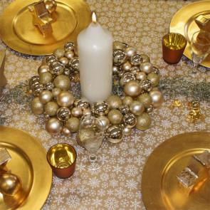 Julevoksdug - Snowflake Gold
