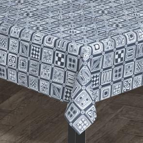 Juna Squares blå - Design Bjørn Wiinblad, akryldug med skridsikker bagside
