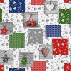 Julevoksdug - Jul under misteltenen, 140 cm