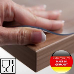 Cafefolie, klar plast, transparent gennemsigtig voksdug, 2,0 mm tyk 100 cm bred