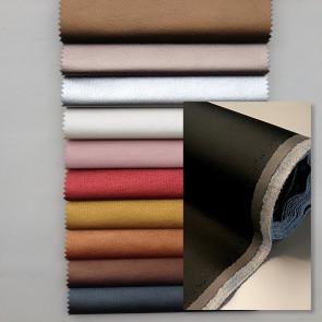 Kunstlæder uden renskåret kant - Ekokuir Brillant - Imiteret læder, 0,8 mm/140 cm