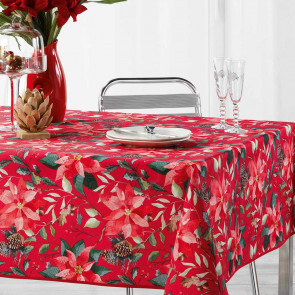 La Rosiere Red - Juledug med anti-plet, 150 x 300 cm