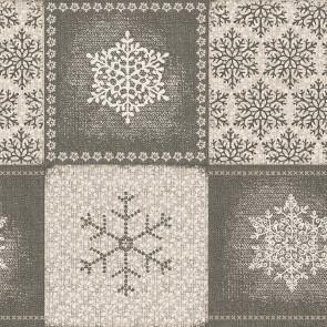 Frozen Naturel, Laura Lancelle akryldug - 90% bomuld/10% polyester med 2 x akryl og antiplet