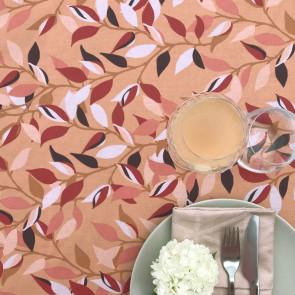 LEAVES Terracotta - Note by Susanne Schjerning - akryldug med antiskrid