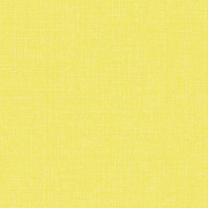 Linen, glat voksdug hørlook - Gul