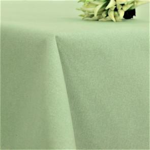 Ensfarvet akryldug mint - Dali 180 cm bred