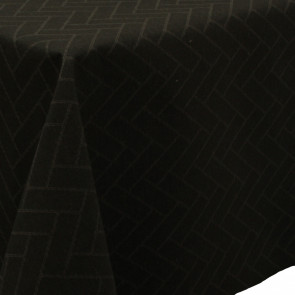 Paxi Skifer Grå/sort, klassisk akryldug med sildebensmønster