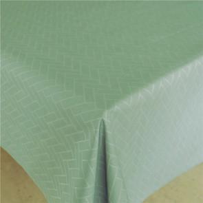 Paxi Støvet Opal Grøn, klassisk akryldug med sildebensmønster