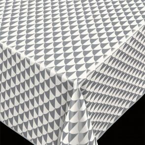 Pirot Silver, voksdug grafisk mønster