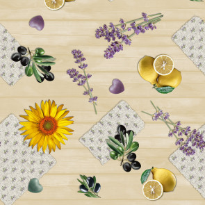 Provenceminder  - farverig og spændende franskinspireret voksdug