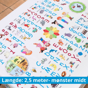 Dansk og Sociale spilleregler - 2,5 meter, mønster midt