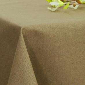 Ensfarvet akryldug sand - Dali 160 cm bred