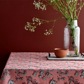 Södahl Shadow Flower Terracotta, akryldug med antiskrid